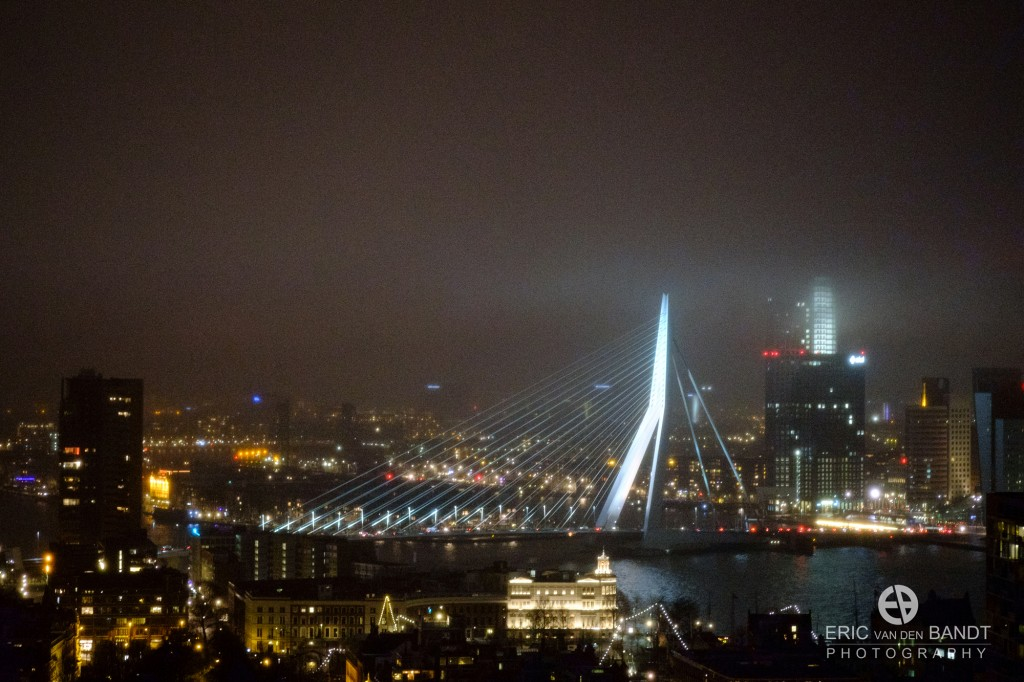 Erasmusbrug and Euromast