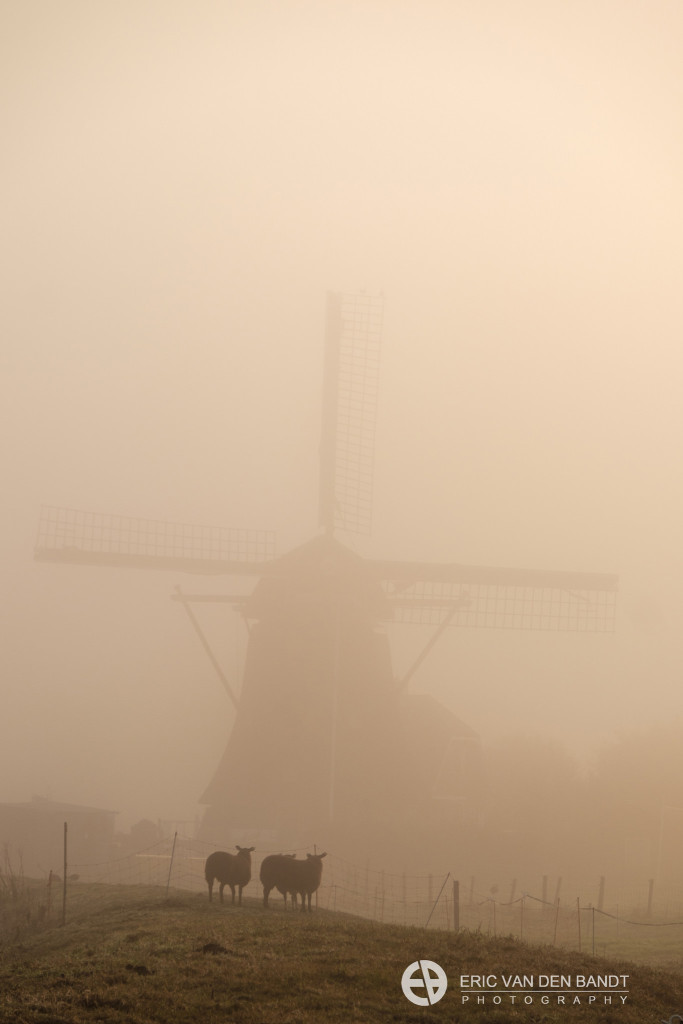 After a while, the mill became visible. Taken with the XT-1 and 18-135 mm lens.
