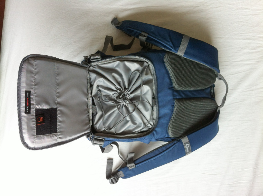 The stormcover can also be used for extra protection inside the bag